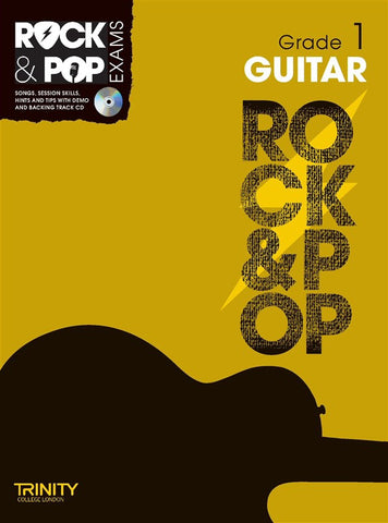Rock & Pop Guitar Grade 1 2012-2017