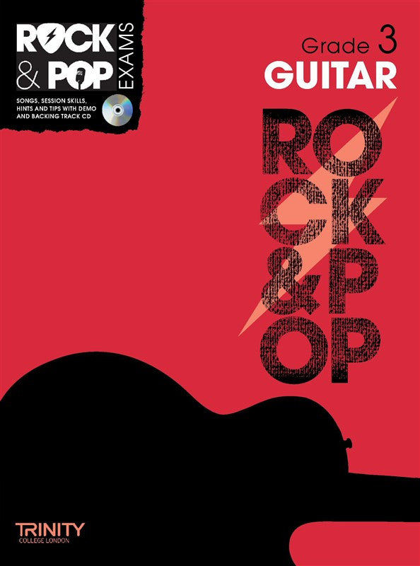 Rock & Pop Guitar Grade 3 2012-2017