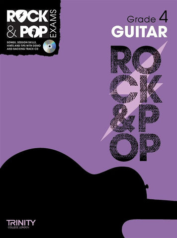 Rock & Pop Guitar Grade 4 2012-2017
