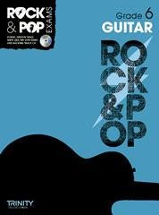 Rock & Pop Guitar Grade 6 2012-2017