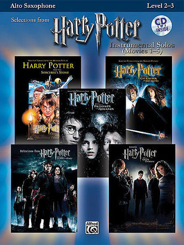 Harry Potter Instrumental Solos (Movies 1-5) - Alto Saxophone