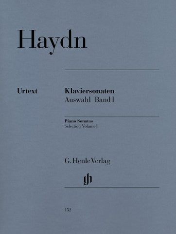 Haydn - Selected Piano Sonatas Volume 1 (Henle)