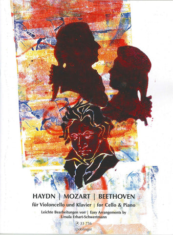 Haydn, Mozart, Beethoven for Cello and Piano