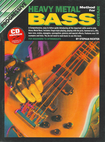 Progressive Heavy Metal Bass - Book/CD