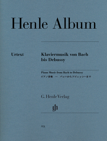 Henle Album - Piano Music from Bach to Debussy