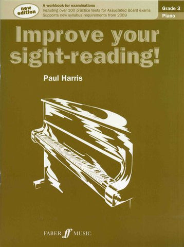 Improve Your Sight-Reading Piano Grade 3