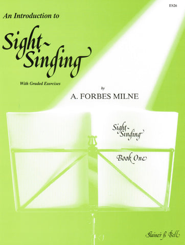 An Introduction to Sight-Singing Book One