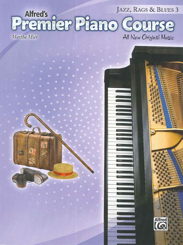 Alfred's Premier Piano Course Jazz, Rags & Blues 3