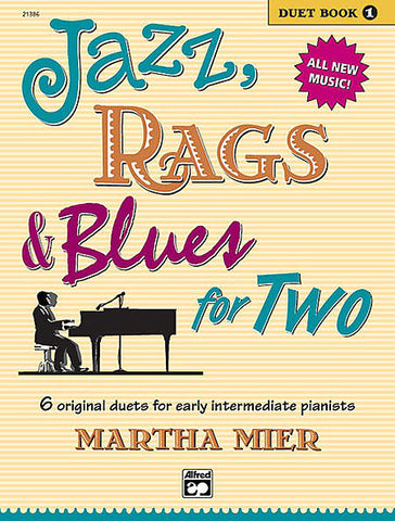 Jazz Rags and Blues for TWO Book 1