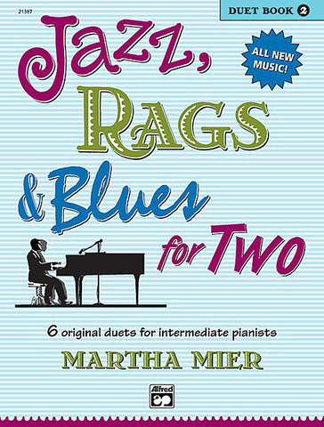 Jazz Rags and Blues for TWO Book 2