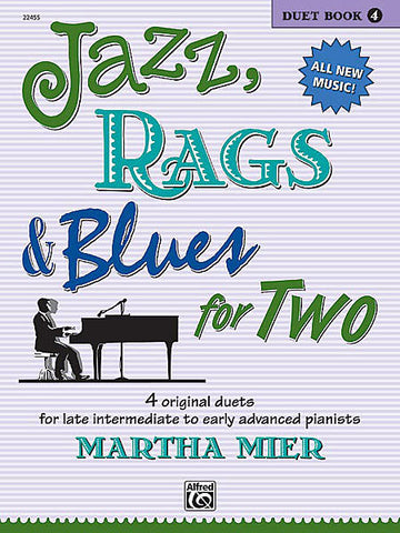 Jazz Rags and Blues for TWO Book 4