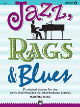Jazz Rags and Blues Book 3 - Book Only