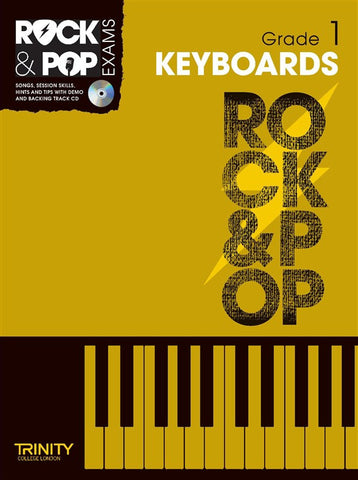 Rock & Pop Keyboards Grade 1 2012-2017