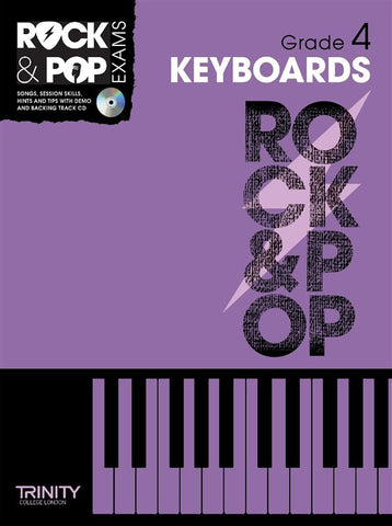 Rock & Pop Keyboards Grade 4 2012-2017