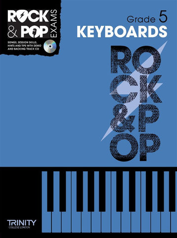 Rock & Pop Keyboards Grade 5 2012-2017