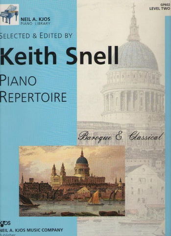 Piano Repertoire - Baroque & Classical - Level 2