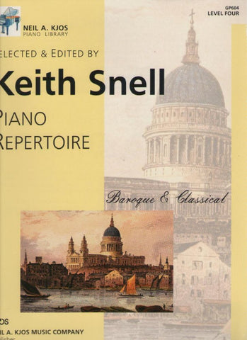 Piano Repertoire - Baroque & Classical - Level 4