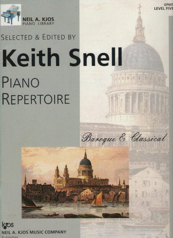 Piano Repertoire - Baroque & Classical - Level 5