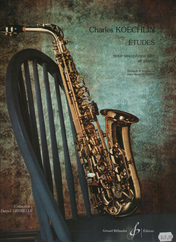 Koechlin Etudes for Saxophone
