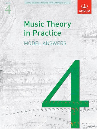 ABRSM Music Theory In Practice Model Answers for Grade 4