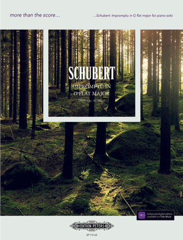 Schubert Impromptu in Gb Major D899 Op. 90 No. 3 (Peters)