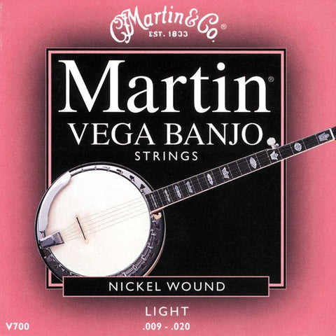 Martin Vega Banjo Strings - Light