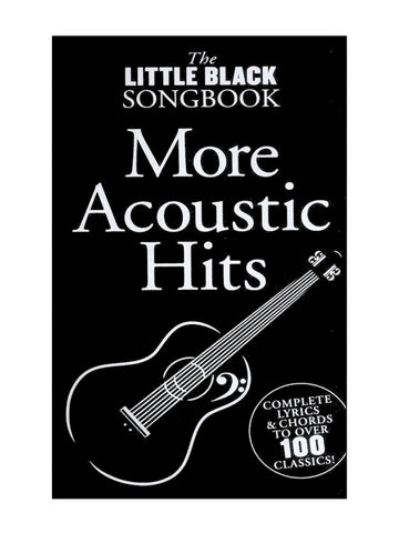 The Little Black Songbook More Acoustic Hits