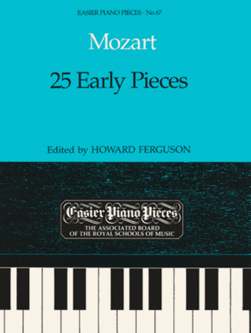 Mozart - 25 Early Pieces (ABRSM)