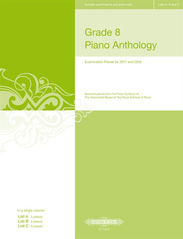 ABRSM Grade 8 Piano Anthology 2017-2018