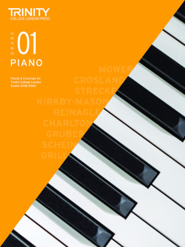 Trinity Piano Exam Grade 1 book only - from 2018-2020