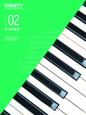 Trinity Piano Exam Grade 2 book only - from 2018-2020