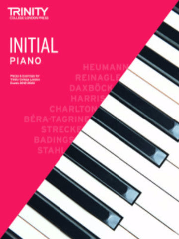 Trinity Piano Exam Initial book only - from 2018-2020