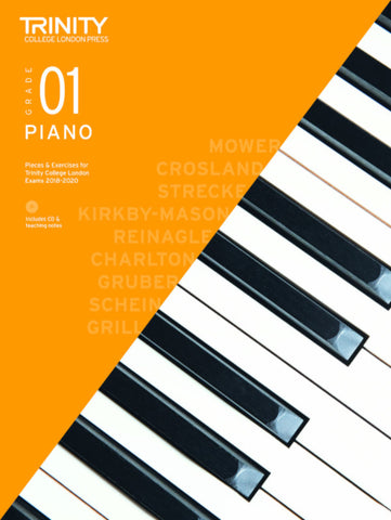 Trinity Piano Exam Grade 1 bk/CD - from 2018-2020
