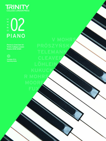 Trinity Piano Exam Grade 2 bk/CD - from 2018-2020