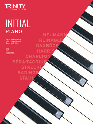 Trinity Piano Exam Initial bk/CD - from 2018-2020