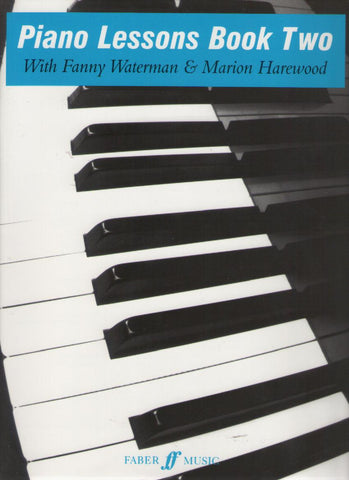 Waterman - Piano Lessons Book 2