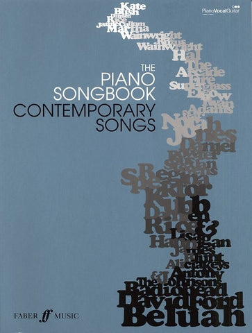 The Piano Songbook: Contemporary Songs Book 1