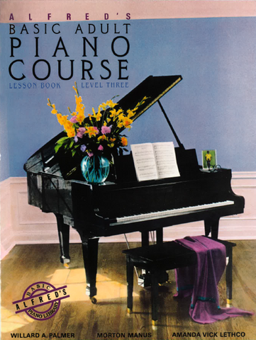 Alfred's Basic Adult Piano Course: Lesson 3