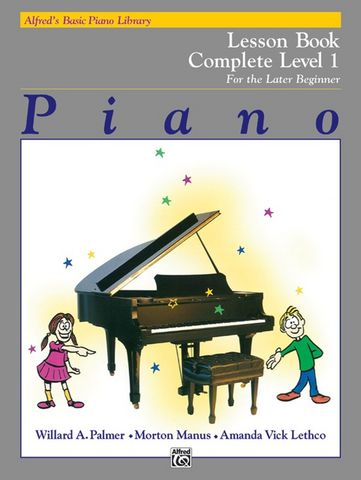 Alfred's Basic Piano Library Lesson 1 (Complete)