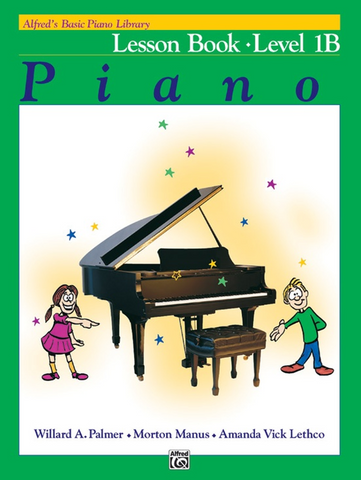 Alfred's Basic Piano Library Lesson 1B