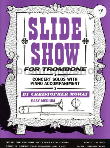 Slide Show for Trombone (Bass Clef)