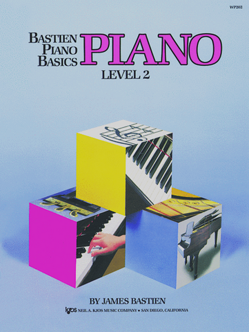 Bastien Piano Basics Lesson Level 2