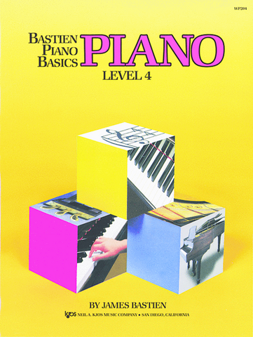 Bastien Piano Basics Lesson Level 4