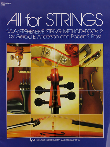 All For Strings Double Bass Book 2