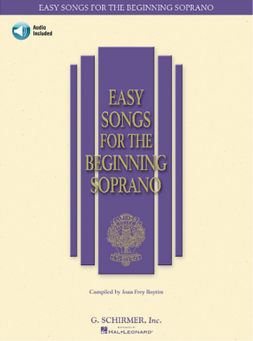 Easy Songs for the Beginning Soprano (Schirmer)