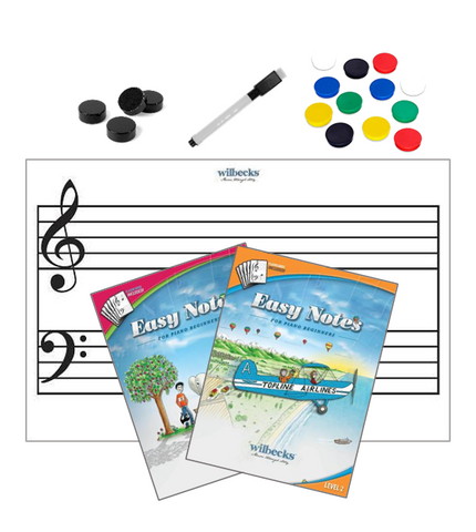 Easy Notes Magnet Board and Activity Pack