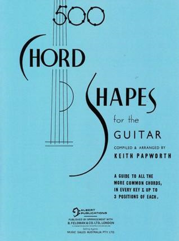 500 Chord Shapes for the Guitar
