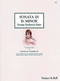 Pinto: Piano Sonata In Eb Minor (Stainer)