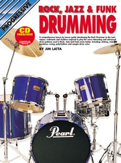 Progressive Rock, Jazz & Funk Drumming - Book/CD