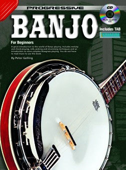 Progressive Banjo - Book/CD